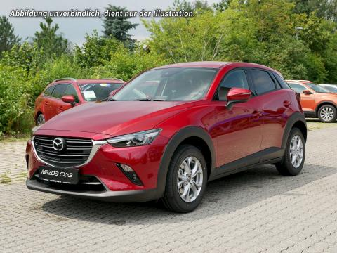 Mazda CX-3 Exclusive Line 2018 Rubinrot Metallic