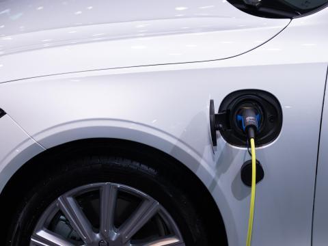 Elektro Auto Auto Till laden