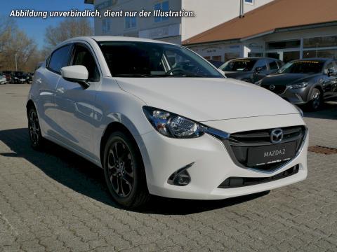 Mazda2 Kizoku Satinweiß Metallic