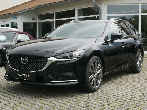 Mazda 6 2019 Sports-Line Plus-Paket Onyxschwarz