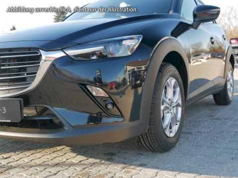 Mazda CX-3 2018 Exclusive Line Onyxschwarz