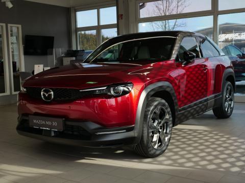 Mazda MX-30 Magmarot Metallic Mazda Autohaus Till