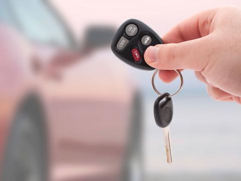 Neues Auto Schlüssel