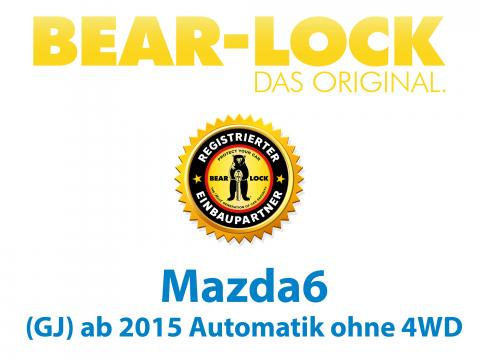 Wegfahrsperre Mazda 6 Gj Automatik Ohne 4wd