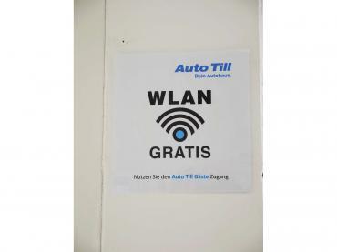 Corona Covid-19 Schutzmaßnahmen im Autohaus - Kunden-WLAN kostenlos