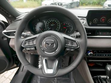 Mazda 6 2019 Sports-Line Plus-Paket Onyxschwarz Lenkrad
