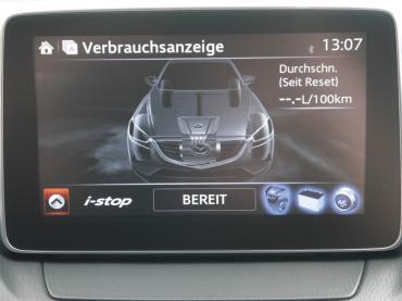 Mazda CX-3 Muenchen bei Auto Till - Krafstoffverbrauchsanzeige