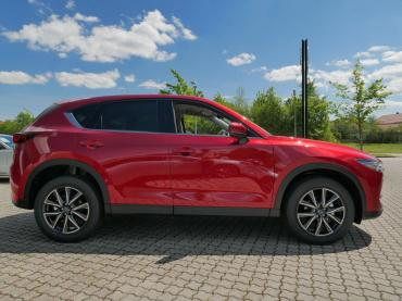 Mazda Cx 5 2017 Magmarot Seitenansicht