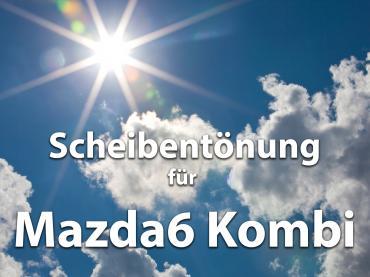 Scheibentoenung Mazda 6 Kombi Sonnenschutz Folie